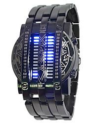 Недорогие -Жен. Наручные часы Цифровой Черный Секундомер Творчество Светящийся Цифровой Мода - Черный Один год Срок службы батареи / SSUO LR626