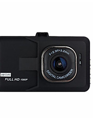 cheap -1080p Night Vision Car DVR 140 Degree Wide Angle 3 inch Dash Cam with G-Sensor / Loop recording Car Recorder