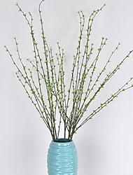 abordables -Fleurs artificielles 1 Une succursale Style Simple / Traditionnel Plantes Arbre de Noël