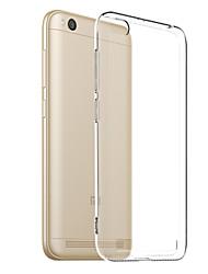 economico -Custodia Per Xiaomi Redmi 5A Transparente Per retro Tinta unita Morbido TPU per Redmi 5A