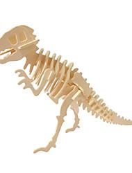 Недорогие -3D пазлы / Деревянные пазлы Юрский динозавр деревянный 1pcs Детские Все Подарок