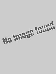 Недорогие -Муж. Вышивка Большие размеры - Polo Хлопок, Рубашечный воротник Классический Однотонный / Животное Черный / С короткими рукавами