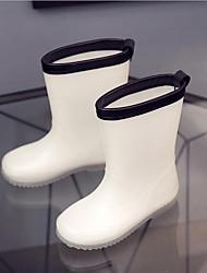 baratos -Para Meninas Sapatos Pele PVC Verão Botas de Chuva Botas para Branco