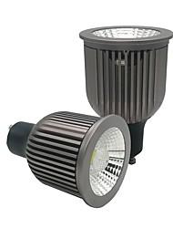cheap -ZDM® 2pcs 6W 1 LEDs LED Spotlight Warm White Cold White Natural White 85-265V Cabinet Commercial Home / Office