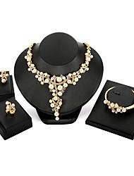 economico -Per donna Parure di gioielli - Perla Vintage, Di tendenza, Oversized Includere Oro Per Feste / Cerimonia