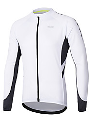 cheap -Arsuxeo Long Sleeve Cycling Jersey - Dark Grey / Blue / Grey Bike