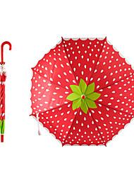 abordables -boy® Plastique Fille Ensoleillé et Pluvieux+D4935 / A l'Epreuve du Vent / nouveau Parapluie Non-Repliable