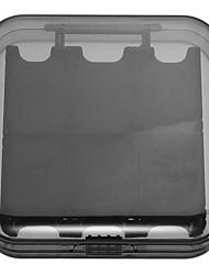 baratos -Switch Sem Fio Caixa de armazenamento de cartão Para Nintendo Interruptor ,  Portátil Caixa de armazenamento de cartão ABS 1 pcs unidade