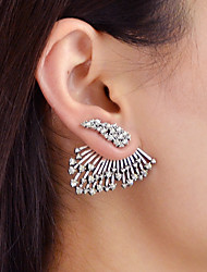 cheap -Front Back Earrings / Ear Jacket - Wings Fashion Silver For Daily / Date