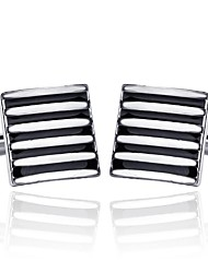 cheap -Cubic Black / Red / Blue Cufflinks Alloy Classic / Fashion Men's Costume Jewelry For Daily