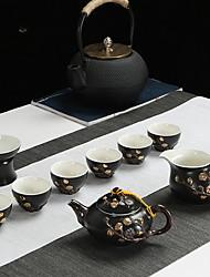 cheap -9pcs Porcelain Teapot Set Heatproof ,  17*17*10;16*16*10;10*10*13;7*7*5cm