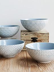 olcso -4db Porcelán Kreatív Étkezési tálak, étkészlet