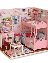 cheap -Dollhouse Creative Exquisite Mini House Romantic Pieces All Gift