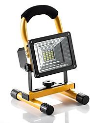 abordables -KWB 1pc 30 W Projecteurs LED Imperméable / Intensité Réglable 5 V Eclairage Extérieur 24 Perles LED