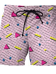 tanie Odzież kąpielowa męska-Męskie Dół od bikini - Wielokolorowa Kąpielówki