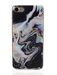 economico -Custodia Per Apple iPhone X / iPhone 7 Ultra sottile / Fantasia / disegno / Adorabile Per retro Paesaggi Morbido TPU per iPhone X /