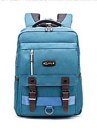 """Недорогие -Муж. Мешки Ткань """"Оксфорд"""" / Хлопок / полиэфир рюкзак Молнии Светло-лиловый / Светло-серый / Тёмно-синий"""