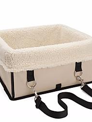 baratos -Cachorros / Gatos / Animais de Estimação Camas Animais de Estimação Transportadores Retratável / Quente / Capa Inclusa Sólido Bege /