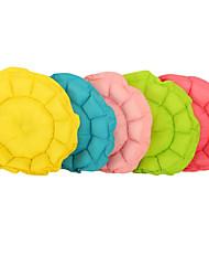 abordables -Perros / Gatos Camas Mascotas Colchonetas y Cojines Un Color Plegable / Suave / flexible ajustable Amarillo / Verde / Azul Para mascotas