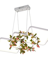 cheap -Artistic Chic & Modern Chandelier Downlight - Matte Mini Style, 110-120V 220-240V, Warm White, LED Light Source Included