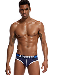 abordables -Homme Slips Couleur Pleine Taille Basse