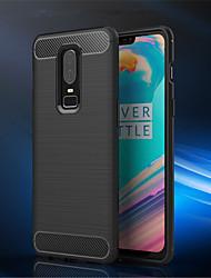 preiswerte -Hülle Für OnePlus OnePlus 6 / OnePlus 5T Ultra dünn Rückseite Solide Weich TPU für OnePlus 6 / One Plus 5 / OnePlus 5T