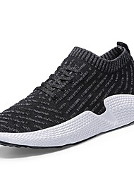 economico -Per uomo Scarpe A maglia Tulle Estate Comoda Sneakers per All'aperto Nero Grigio Verde