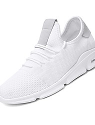 abordables -Homme Chaussures Filet / Tulle Eté Confort / Semelles Légères Basket Blanc / noir / vert / Blanc et vert
