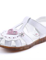 Недорогие -Девочки Обувь Искусственное волокно Лето Детская праздничная обувь Сандалии для Белый / Розовый
