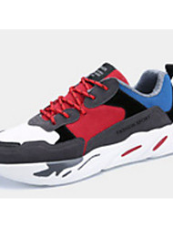 cheap -Men's Fabric Winter Comfort Athletic Shoes Running Shoes Black / Red / Green