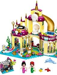 Недорогие -Конструкторы 402 pcs Замок принцесса Милый Взаимодействие родителей и детей Мальчики Девочки Игрушки Подарок