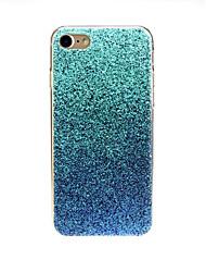 Недорогие -Кейс для Назначение Apple iPhone X / iPhone 7 Ультратонкий / С узором / Милый Кейс на заднюю панель Градиент цвета Мягкий ТПУ для iPhone X / iPhone 8 Pluss / iPhone 8