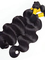 abordables -Cheveux Indiens Ondulé Tissages de cheveux humains / Extensions Naturelles Tissages de cheveux humains Meilleure qualité / Grosses soldes
