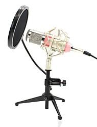 Недорогие -KEBTYVOR BM800 Кабель Микрофон Микрофон Конденсаторный микрофон Ручной микрофон Назначение Компьютерный микрофон