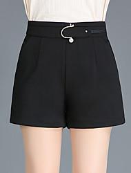 economico -Per donna Attivo Pantaloncini Pantaloni - Tinta unita