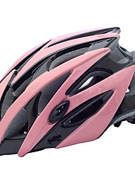 cheap -Adults Bike Helmet 21 Vents CE Impact Resistant, Light Weight, Ventilation EPS Sports Cycling / Bike / Camping - Black / White / Blue / White / Black / Green
