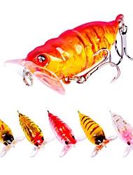 economico -6pcs pc Esca Esche rigide Plastica All'aperto Pesca a mulinello / Pesca con esca / Pesca dilettantistica