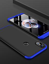 baratos -Capinha Para Xiaomi Xiaomi Mi Mix 2S / Mi 6X Áspero Capa traseira Sólido Rígida PC para Xiaomi Mi Max 2 / Xiaomi Mi Mix 2 / Xiaomi Mi Mix 2S / Xiaomi Mi 6 / Xiaomi Mi 5s