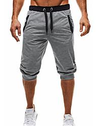 economico -Per uomo Essenziale Pantaloni della tuta / Chino Pantaloni - Tinta unita