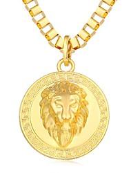 economico -Collane con ciondolo - Fantastico, Steampunk Oro, Nero, Argento 80 cm Collana Per Quotidiano, Strada