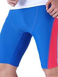 abordables -Homme Shorts de Natation Etanche, Résistant au Chlore, Confortable Nylon / Spandex Pantalon court Maillots de Bain Tenues de plage Shorts de Surf Mosaïque Natation / Plage