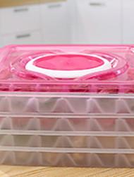 abordables -Organisation de cuisine Stockage alimentaire / Plateaux à jet d'encre / Boîte de Rangement PP (Polypropylene) Rangement 1pc