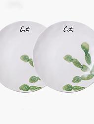 olcso -2pcs Porcelán Kreatív / Menő Tálak vacsorára, étkészlet