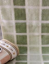 abordables -Qualité supérieure Serviette, Rayé Polyester / Coton 2 pcs