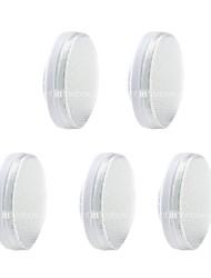 abordables -5pcs 3.5W 60 LED Installation Facile Lampes d'Armoire LED Blanc Chaud Blanc Froid Blanc Naturel 220-240V Salon / Salle à Manger