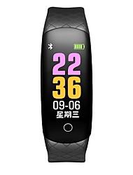 baratos -Pulseira inteligente CB608 PRO para iOS / Android 4.3 e acima Monitor de Batimento Cardíaco / Impermeável / Medição de Pressão Sanguínea / Suspensão Longa / Tela de toque Podômetro / Aviso de Chamada