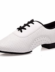 cheap -Women's Modern Shoes Other Animal Skin Oxford Low Heel Dance Shoes White / Performance / Practice