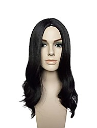 cheap -Wig Accessories Curly Layered Haircut Synthetic Hair Party / Synthetic / New Arrival Black Wig Women's Long Capless / Natural Hairline