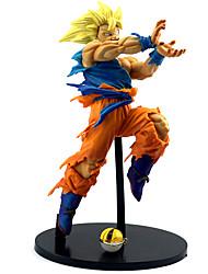 abordables -Figures Animé Action Inspiré par Dragon Ball Son Goku PVC 22cm CM Jouets modèle Jouets DIY