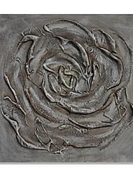 baratos -Pintura a Óleo Pintados à mão - Abstrato Contemprâneo Modern Tela de pintura